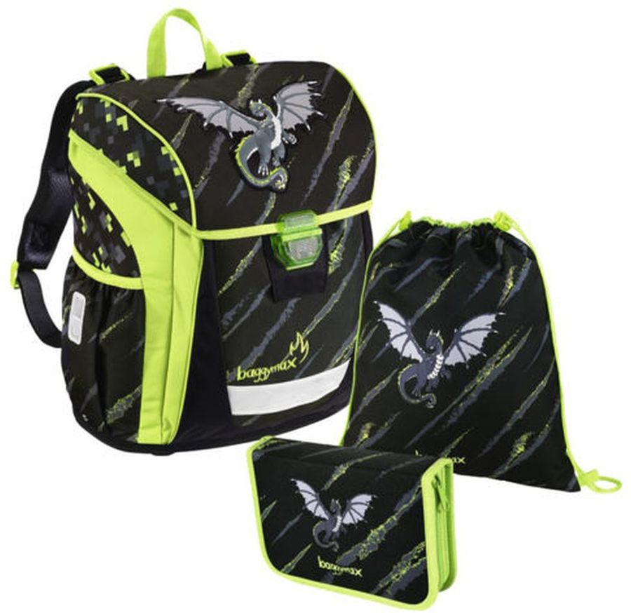 Ранец STEP BY STEP BaggyMax Niffty Dragon 3 предмета (00139030)